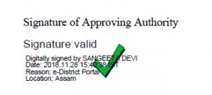 certificate digital sign verify
