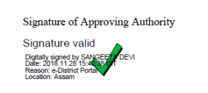 Certificate Digital Sign Verification