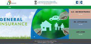 CSC Insurance Registration