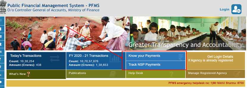 check payment status