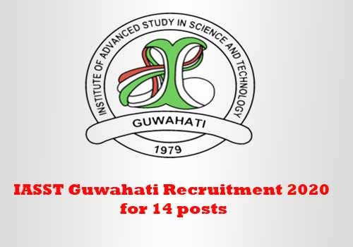 IASST Guwahati Recruitment 2020