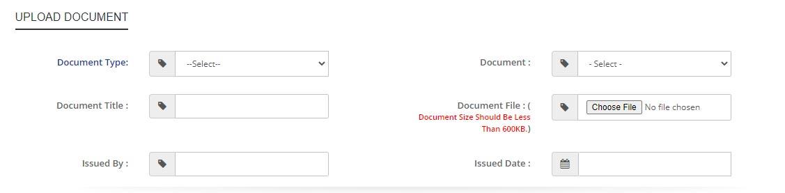 samagra upload documents