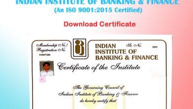 Photo of IIBF Certificate Download PDF – Download IIBF BC e-Certificate