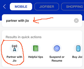 partner with jio