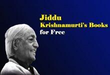 Photo of Jiddu Krishnamurti Books – J Krishnamurti Books PDF