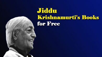 Krishnamurti's Books PDF